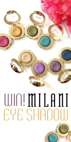 #RePin and Enter to #Win Milani #Eyeshadow Every Day! #beauty #makeup #contest VALID UNTIL OCT 1