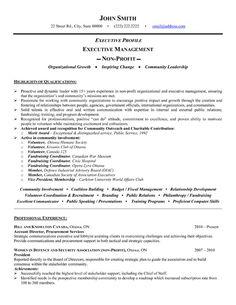 example public relation resume template