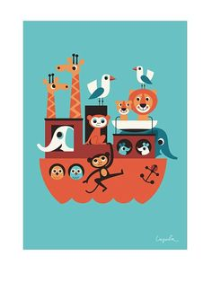 Poster. Ship. By Ingela.