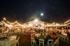 Night Barn Wedding