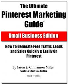 Ok, it's a shameless plug for my own ebook, but I do read it obsessively...since I'm working on Version 2 already. If you're not familiar with it, it's a free 33 page ebook. You can download your copy at www.marketingonpinterest.com.