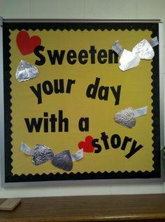 Bulletin board idea.