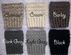 Boot Cuffs - Womens Wool Boot Cuffs - Boot Cuffs Wool - Boot Cuffs Crochet - Womens Boot Cuffs - Wool Boot Cuffs - Womens Boot Cuffs Wool via Etsy