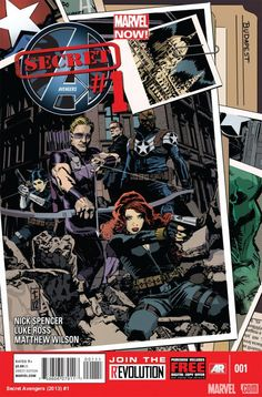 Hawkeye, Mockingbird, and the Black Widow find themselves doing S.H.I.E.L.D.'s dirty work in SECRET AVENGERS, launching with a new #1 next month! Get the lowdown on this new team and the return of fan favorites such as Agent Phil Coulson, Hulk, and Winter Soldier in this interview with writer Nick Spencer!    http://marvel.com/news/story/19966/secret_avengers_declassified_the_operatives