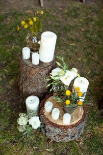 Outdoor wedding idea.