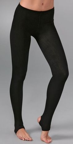 FLEECE LINED LEGGINGS! These are great for boots, and you can't see through them, and great for winter.