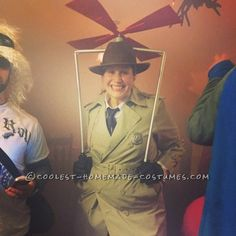 Cool Inspector Gadget Costume with Working Gadgets!... Coolest Halloween Costume Contest
