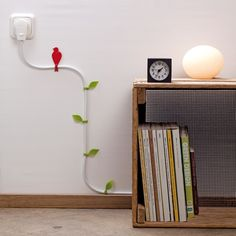 Cable clips Wire Blooms - Awesome stuff down here