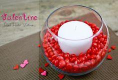 Valentine Red Hots Votive