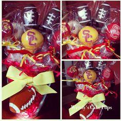 USC football cakepops