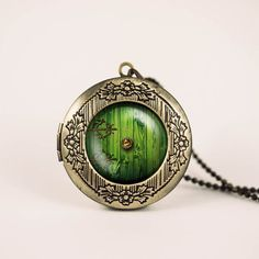 Hobbit door necklace