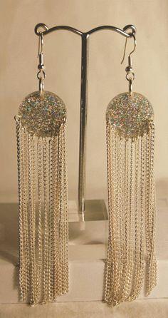 Shoulder Duster Earrings  Statement Earrings #JillyBeads #swarovski