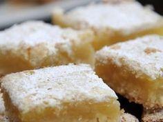 Gluten free Maninis Lemon Bars