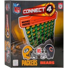 Chicago Bears vs. Green Bay Packers Connect 4 Dueling