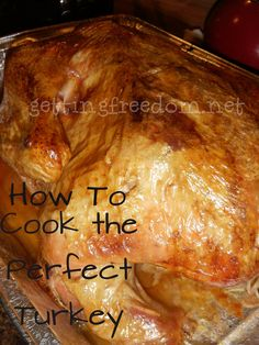 Brining and Cooking a Turkey