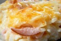 Cheesy Ham and Hashbrown Casserole