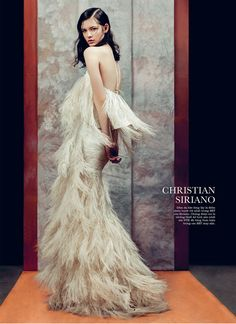 Model: Isabelle Nicolay | Photographer: Phuong My & Zhang Jingna - for ELLE Vietnam