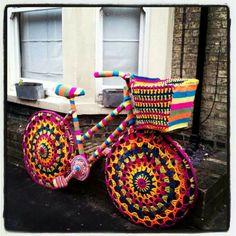 Such a cool bike! http://bike2power.com