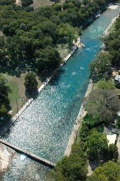 Barton Springs Pool - Austin, TX