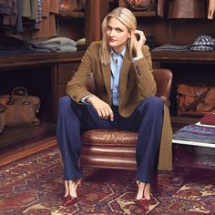 Women have been looking to menswear for decades in order to gain new fashion ideas, and taking inspiration from sweaters and jackets. Now some department stores are asking for menswear designers to cut some of their most popular pieces in smaller sizes making menswear an even more popular choice for women. Karisa J.