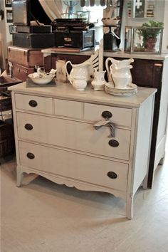 Vintage Junky - Creating Character.. great dresser