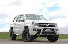 Delta 4x4 Nudge Bar on Amarok White