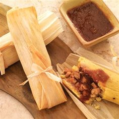 Tamales are masa dough filled with savory or sweet fillings and ...