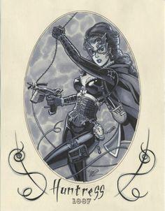 Huntress by Michael Dooney