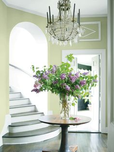 @countryliving: Benjamin Moore's Color of the Year for 2015 Is... Guilford Green, a silvery shade of sage. #ColorTrends2015