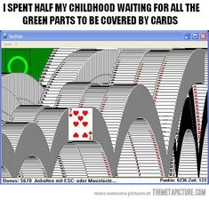 How I spent my childhood…
