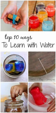 The top 10 water science activities for kids - hands on summer fun science!