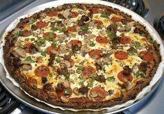 Low carb pizza recipe
