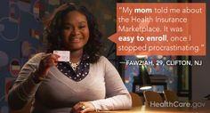 Doing the Work I Want to Do: My #GetCovered Story (By Fawziah Abel Rahman Qadir): http://www.hhs.gov/healthcare/facts/blog/2014/03/fawziahs-enrollment-story.html