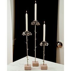 Global Views Rose Candle Stick