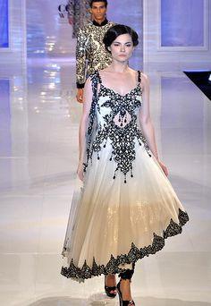 Manav Gangwani at Delhi Couture Week 2012