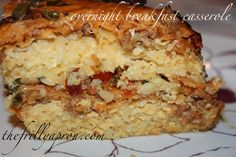 12 Days of Christmas: Day 11 [Recipe] Overnight Slow-Cooker Sausage and Hash Brown Breakfast Casserole