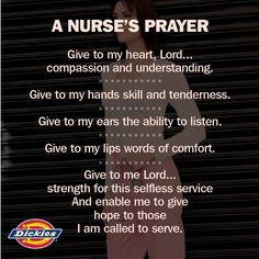 This is why we <3 nurses! A Nurse's Prayer. #truths #nursing #nurselife #thankyou