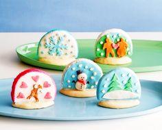 Fondant+Snow+Globe+Cookies+#howto+#tutorial