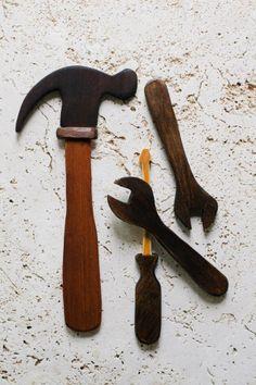 wooden baby tools- Joanna Ballentine