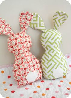 This bunny pattern is so adorable!