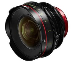 Canon EF 14mm T3.1 and 135mm T2.2 Cinema Prime Lenses