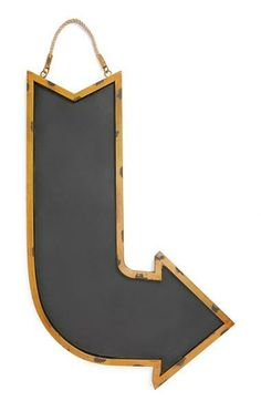 Cute for a kitchen chalkboard | Curved Arrow Chalkboard