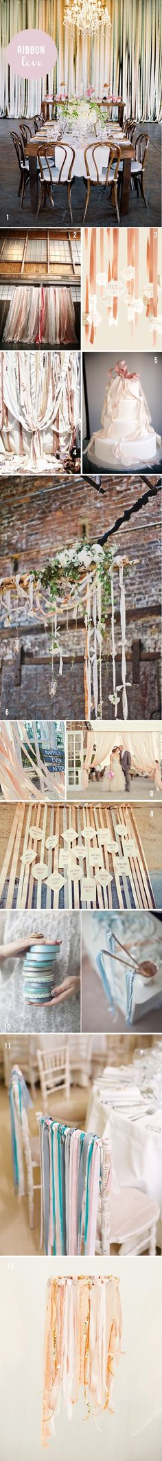 wedding ribbon ideas