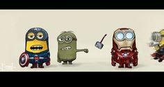 Despicable Avengers assemble!