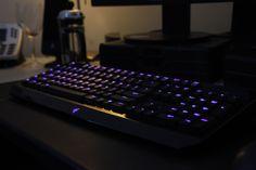 Razer keyboard, it glows!
