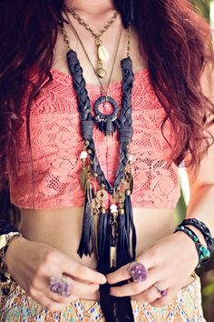 Boho Necklace | Bohemian Jewelry