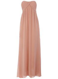 skirt, pleat maxi, maxi dresses, bridesmaid dresses, bandeau pleat, bridesmaid colors