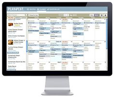 Meal Planner website that  also makes the grocery list out of your weekly menu