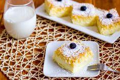 Magic Cake Dessert - one batter, three layers