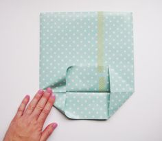 DIY gift bag with wrapping paper